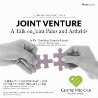 Joint Venture: A Talk on Joint Pains and Arthritis