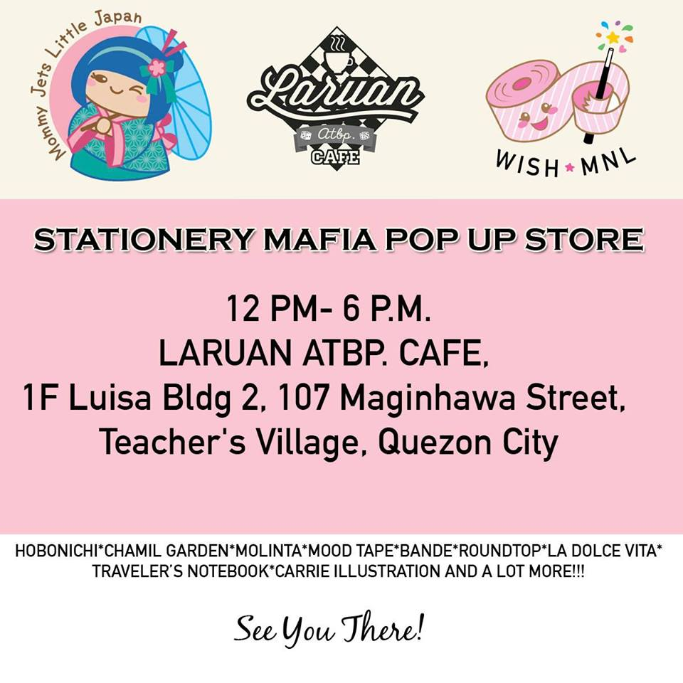 Back to School Pop Up Store