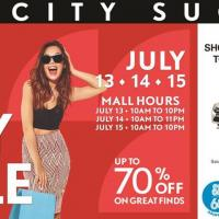 3 Day Sale at SM City Sucat
