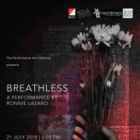 Breathless - A Collaboration Between Students Of Arts Management And Ronnie Lazaro