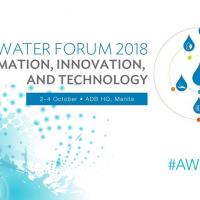 Asia Water Forum 2018: Information, Innovation, and Technology