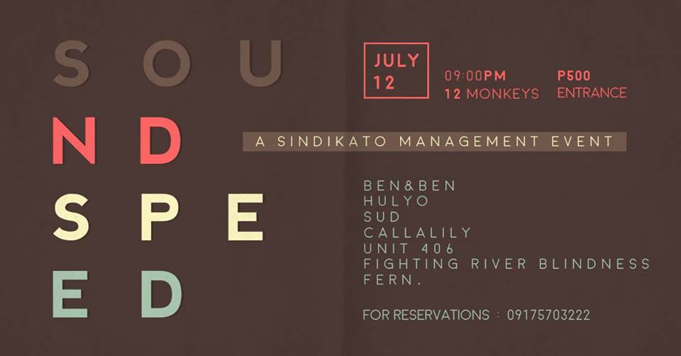 SoundSpeed: A Sindikato Management Event