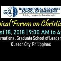 Theological Forum on Christian Ethics