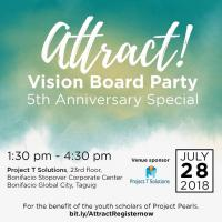 Attract ! Vision Board Party