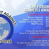 Global Fight Against Diabetes 2018