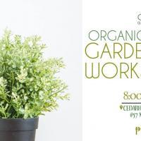 July Organic Urban Gardening Workshop