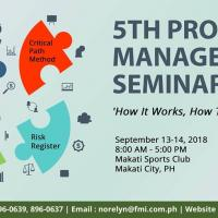 5th Project Management Seminar 2018