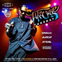 TAKEOVER TUESDAY AT ROYAL