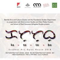 """KATUTUBO"" Benilde Student Art Open House Commences"