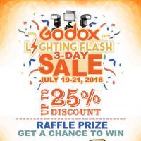 Godox Lighting Flash 3-Day Sale