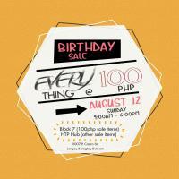 HTP Birthday Sale