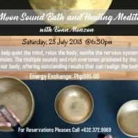 Full Moon Sound Bath and Healing Meditation