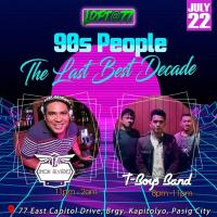 90'S PEOPLE THE LAST BEST DECADE AT LOFT AT 77