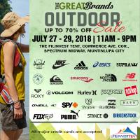 Striptop Outlet Store's The Great Brands Outdoor Sale