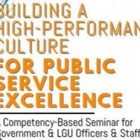 Building A High-Performance Culture for PublicService Excellence