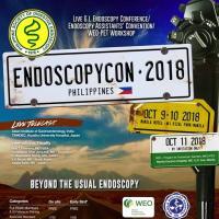 Endoscopycon Philippines 2018: Beyond the Usual Endoscopy
