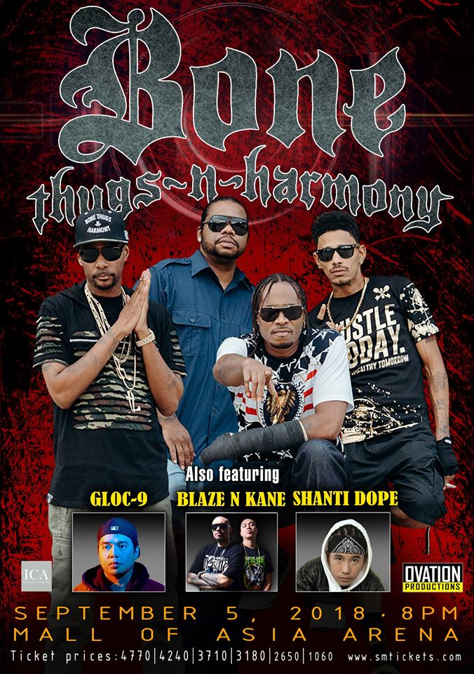 Bone Thugs-N-Harmony Live in Manila 2018