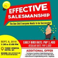 Effective Salesmanship - The One Skill Everyone Needs to be Successful