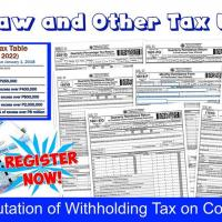 TRAIN Law and Other Tax Updates & How to Compute Withholding Tax