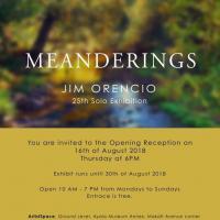 Opening Reception of Jim Orencio: Meanderings