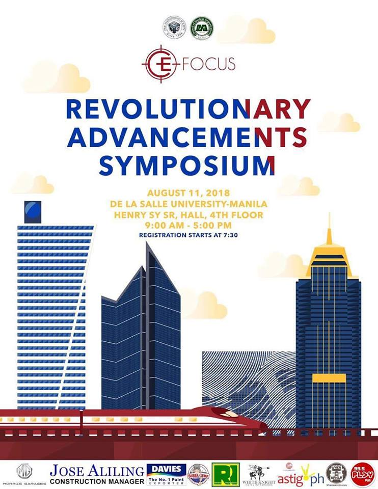 CE Focus 2018: Revolutionary Advancements Symposium