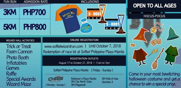 Sofitel Wizard Run 2018