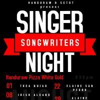 SINGER SONGWRITERS NIGHT AT HANDURAW PIZZA MANGO SQUARE