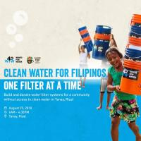 Clean Water for Filipinos, One Filter at a Time