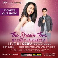 The Dream Tour #Mayward In Cebu
