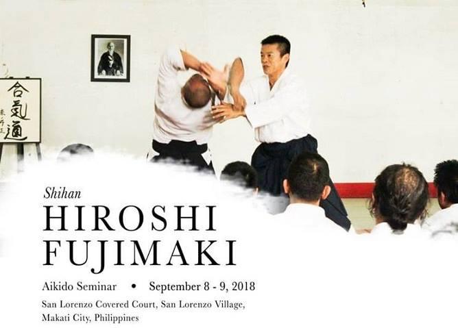Shihan Hiroshi Fujimaki Seminar - Makati, Philippines