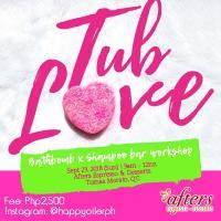 Tub Love Essential Oil Workshop (bathbombs and shampoo bars)