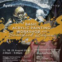 Acrylic Painting Workshop at Ayala Museum