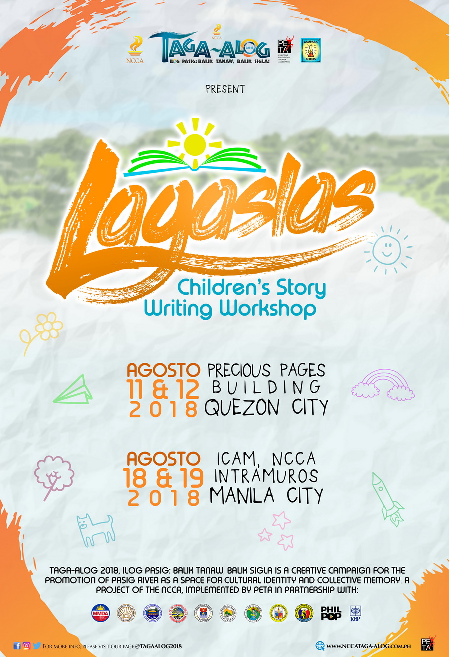 NCCA Ilog Pasig Project Offers Free Writing and Filmmaking