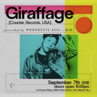 Moonbeats Asia and XX XX Present GIRAFFAGE Live In Manila