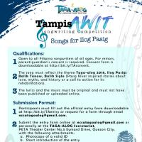 TampisAWIT Songwriting Competition - Songs for Ilog Pasig
