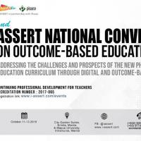 2nd ASSERT National Convention on Outcome-Based Education