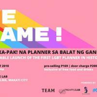 We Came! Ang Pinaka Pak na Planner sa Balat ng Ganern!