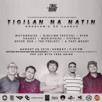"HOODLUM ""TIGILAN NA NATIN"" EP LAUNCH AT HISTORIA BOUTIQUE BAR AND RESTAURANT"
