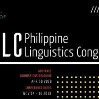13th Philippine Linguistics Congress