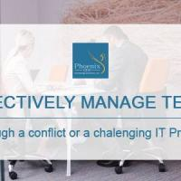 Managing Teams Through a Conflict or a Challenging Project