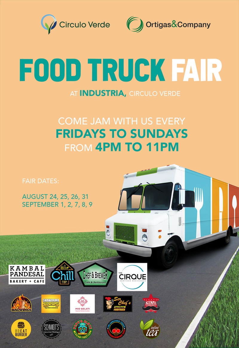 Food Truck Fair at Industria, Circulo Verde