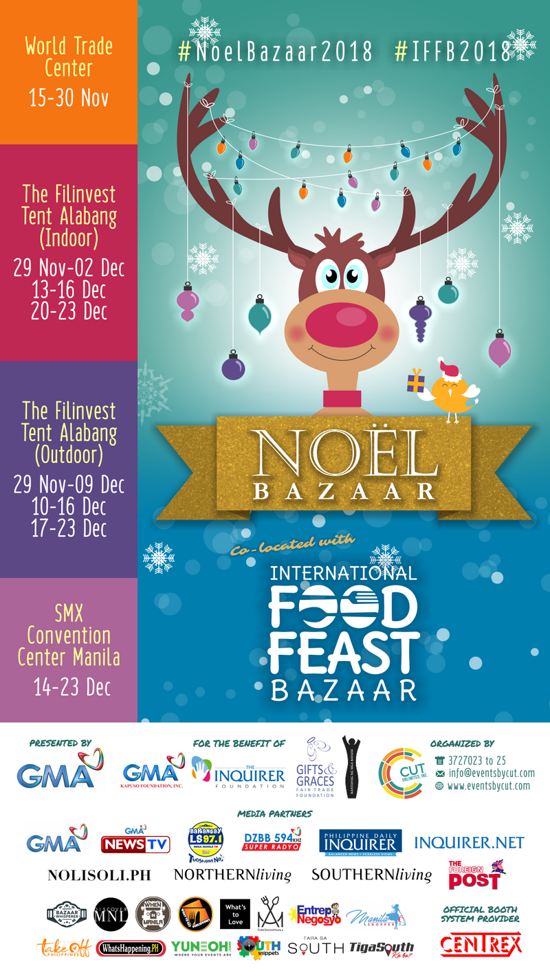 Noel Bazaar 2018 at SMX Convention Center MOA