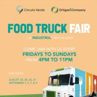 Circulo Verde's Food Truck Fair: Weekends of Good Food and Music in a Lively Community