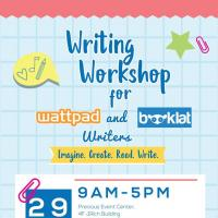 Workshop For Wattpad and Booklat Writers