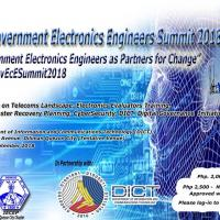 Philippine Government Electronics Engineers Summit 2018