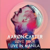Aaron Carter Brings the LØVË Tour to Manila