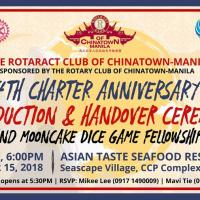 Charter Anniversary and Handover & Induction Ceremonies