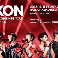 Ikon 2018 Continue Tour in Manila