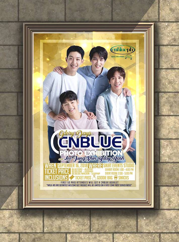 Glory Days: A Cnblue Photo Exhibition