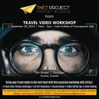 Travel Video Workshop with JR Alli